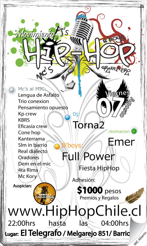 HipHop - Ago09